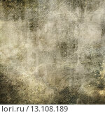 art abstract grunge, textured, scratched background in green, grey and beige and black colors, with letter. Стоковое фото, агентство Ingram Publishing / Фотобанк Лори