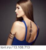 Купить «Fashion portrait of elegant woman with magnificent hair», фото № 13108713, снято 22 июля 2015 г. (c) Ingram Publishing / Фотобанк Лори