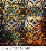 Купить «art abstract colorful watercolor background with damask pattern in orange, beige, black, brown and white colors», фото № 13112749, снято 21 ноября 2019 г. (c) Ingram Publishing / Фотобанк Лори