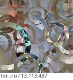 Купить «art abstract geometric textured colorful background with circles in grey and white colors», фото № 13113437, снято 17 декабря 2018 г. (c) Ingram Publishing / Фотобанк Лори
