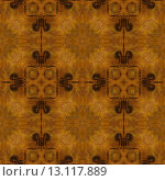Купить «art vintage damask seamless pattern background in brown color», фото № 13117889, снято 22 марта 2019 г. (c) Ingram Publishing / Фотобанк Лори