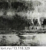 art abstract acrylic background in black, grey and white colors. Стоковое фото, агентство Ingram Publishing / Фотобанк Лори