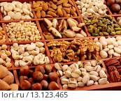 Купить «Nut Selection - Non Exclusive», фото № 13123465, снято 8 июля 2020 г. (c) age Fotostock / Фотобанк Лори
