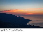 Рассвет на Ай-Петри (2012 год). Стоковое фото, фотограф Артем Шутов / Фотобанк Лори