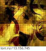 Купить «art abstract geometric textured colorful background with circles in golden and brown colors», фото № 13156745, снято 17 декабря 2018 г. (c) Ingram Publishing / Фотобанк Лори