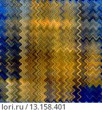 Купить «art abstract colorful zigzag geometric vertical seamless pattern background in blue, black and gold colors», фото № 13158401, снято 17 августа 2018 г. (c) Ingram Publishing / Фотобанк Лори