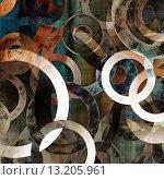 Купить «art abstract geometric textured colorful background with circles in green, grey, white and black colors», фото № 13205961, снято 20 октября 2018 г. (c) Ingram Publishing / Фотобанк Лори