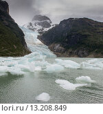 Купить «Southern Patagonian Ice Field, Bernardo O'Higgins National Park, Patagonia, Chile», фото № 13208849, снято 29 ноября 2013 г. (c) Ingram Publishing / Фотобанк Лори