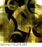 Купить «art abstract geometric textured transparenct colorful background with circles in green, grey, olive, gold, white and black colors», фото № 13215261, снято 16 июля 2018 г. (c) Ingram Publishing / Фотобанк Лори