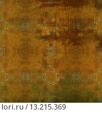 Купить «art abstract acrylic and pencil colorful background with damask pattern in brown and green colors», фото № 13215369, снято 23 октября 2019 г. (c) Ingram Publishing / Фотобанк Лори