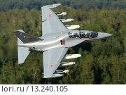 Як-130 (2012 год). Редакционное фото, фотограф Артём Аникеев / Фотобанк Лори