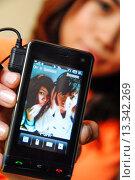 Купить «Teenage girl listening to music», фото № 13342269, снято 19 декабря 2007 г. (c) age Fotostock / Фотобанк Лори