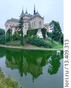 Купить «Bojnice Castle (Slovakia)», фото № 13409313, снято 26 августа 2014 г. (c) Юрий Брыкайло / Фотобанк Лори