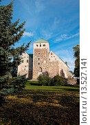 Turku Finland old ancient Turun Linna Castle 12th Century stone landmark. Стоковое фото, фотограф Bill Bachmann / age Fotostock / Фотобанк Лори