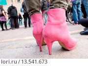 Купить «Demonstration In Defense Of Transexual Rights, 27/10/2012, Barcelona, Spain», фото № 13541673, снято 6 июля 2020 г. (c) age Fotostock / Фотобанк Лори