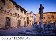 Купить «Plaza del Populo o de los leones, Baeza  Jaén province, Andalusia, Spain», фото № 13598345, снято 18 июня 2019 г. (c) age Fotostock / Фотобанк Лори