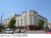Гостиница Украина в Евпатории, Крым (2015 год). Редакционное фото, фотограф Anton  Ryabtsev / Фотобанк Лори