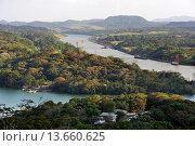 Купить «watching tower of the Gamboa Resort situated at the confluence of the Chagres River and the Canal, Republic of Panama, Central America», фото № 13660625, снято 24 января 2019 г. (c) age Fotostock / Фотобанк Лори