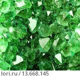 Купить «Текстура из природных зеленых кристаллов», фото № 13668145, снято 17 сентября 2009 г. (c) Бражников Андрей / Фотобанк Лори