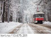 Трамвай. Редакционное фото, фотограф Артём Самохин / Фотобанк Лори