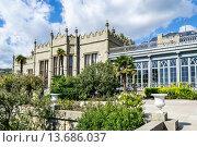 Купить «Ливадийский дворец, Крым, Россия», фото № 13686037, снято 9 октября 2015 г. (c) Алексей / Фотобанк Лори
