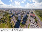 Северное Бутово с высоты. Стоковое фото, фотограф Данила Михин / Фотобанк Лори