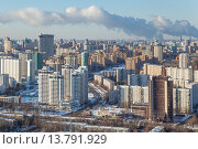 Холодный город Москва (2015 год). Редакционное фото, фотограф Данила Михин / Фотобанк Лори