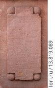 Купить «closeup stone relief sandstone weatherworn», фото № 13819089, снято 19 марта 2019 г. (c) PantherMedia / Фотобанк Лори