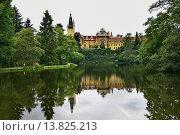 Чехия. Замок парка Пругоницы (2006 год). Стоковое фото, фотограф Андрей Левин / Фотобанк Лори