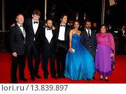 Купить «Nawazuddin Siddiqui, Tannishtha Chatterjee, Amit Kumar, Vijay Verma - Cannes/France/France - 66TH CANNES FILM FESTIVAL - RED CARPET MONSOON SHOOTOUT», фото № 13839897, снято 18 мая 2013 г. (c) age Fotostock / Фотобанк Лори