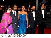 Купить «Nawazuddin Siddiqui, Tannishtha Chatterjee, Amit Kumar, Vijay Verma - Cannes/France/France - 66TH CANNES FILM FESTIVAL - RED CARPET MONSOON SHOOTOUT», фото № 13840501, снято 18 мая 2013 г. (c) age Fotostock / Фотобанк Лори