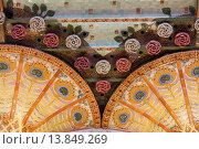 Купить «Palau de la Musica Catalana, detail of ceiling, by Lluis Domenech i Montaner, Barcelona, Spain.», фото № 13849269, снято 23 апреля 2019 г. (c) age Fotostock / Фотобанк Лори