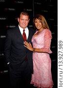 Traci Bingham & boyfriend John Yarborough - Hollywood/California/United States - 2003 T-MOBILE PARTY. Редакционное фото, фотограф visual/pictureperfect / age Fotostock / Фотобанк Лори