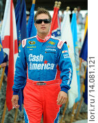 Купить «JJ Yeley - POconos/Pennslyvania/USA - SUNOCO RED CROSS PENNSLYVANIA 500», фото № 14081121, снято 1 августа 2010 г. (c) age Fotostock / Фотобанк Лори
