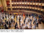 Купить «Eroeffnung, Feature, Debuetanten 56. Wiener Opernball in der Wiener Staatsoper am 16.2.2012 in Wien Austria  *** Local Caption *** Opening, feature debutant...», фото № 14128221, снято 17 февраля 2012 г. (c) age Fotostock / Фотобанк Лори