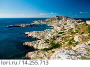 Купить «THE FRIOUL ISLANDS,POMEGUES, MARSEILLE, PROVENCE, FRANCE», фото № 14255713, снято 26 сентября 2010 г. (c) age Fotostock / Фотобанк Лори