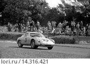 Купить «Fritz Hahnl Jr in a Porsche-Abarth 356B Carrera GTL in the Tourist Trophy, Goodwood, England 19 Aug 1961.», фото № 14316421, снято 21 ноября 2013 г. (c) age Fotostock / Фотобанк Лори