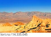 Панорама Долины Смерти. Калифорния (2015 год). Стоковое фото, фотограф Сергей Новиков / Фотобанк Лори