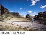 Купить «Quatro Canyones and the Apurimac River, in the Andes, Peru, South America», фото № 14378509, снято 22 февраля 2020 г. (c) age Fotostock / Фотобанк Лори