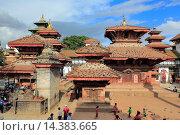 Купить «Jagannath Temple, Durbar square, Kathmandu, Nepal.», фото № 14383665, снято 28 июля 2013 г. (c) age Fotostock / Фотобанк Лори
