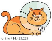 Купить «Котогороскоп: знак зодиака Лев», иллюстрация № 14423229 (c) Елисеева Екатерина / Фотобанк Лори
