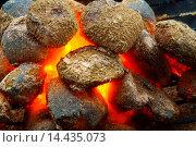 Купить «Glowing Briquettes.», фото № 14435073, снято 17 января 2014 г. (c) age Fotostock / Фотобанк Лори