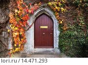 Купить «Door to the Presidents Office, The Quadrangle,.», фото № 14471293, снято 7 ноября 2011 г. (c) age Fotostock / Фотобанк Лори