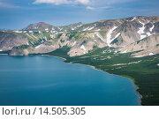 Купить «Crater of Ksudach Volcano, Kamchatka, Russia, Eurasia», фото № 14505305, снято 26 мая 2019 г. (c) age Fotostock / Фотобанк Лори