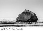 water sea ocean rock coast. Стоковое фото, фотограф Rico Ködder / PantherMedia / Фотобанк Лори