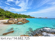 Купить «Summer sea in Thailand», фото № 14682725, снято 20 июня 2019 г. (c) PantherMedia / Фотобанк Лори