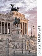 Купить «Altar, Emmanuele, capital, Italy, Europe, monument, Rome, Vittorio», фото № 14685241, снято 1 октября 2012 г. (c) age Fotostock / Фотобанк Лори