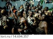 Купить «Royal warriors of the Ashanti Royal Court guarding the king's residence», фото № 14694357, снято 10 июля 2020 г. (c) age Fotostock / Фотобанк Лори