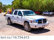 Купить «Dodge Dakota», фото № 14734613, снято 17 ноября 2015 г. (c) Art Konovalov / Фотобанк Лори