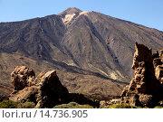 Купить «Mount Teide National Park, Tenerife, Canary Islands, Spain.», фото № 14736905, снято 24 января 2019 г. (c) age Fotostock / Фотобанк Лори